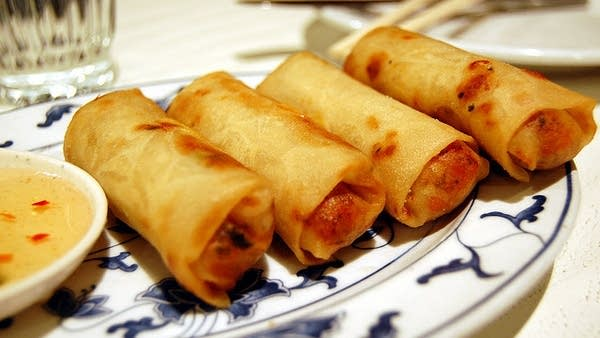 Vietnamese Spring Rolls with Vietnamese Dipping Sauce