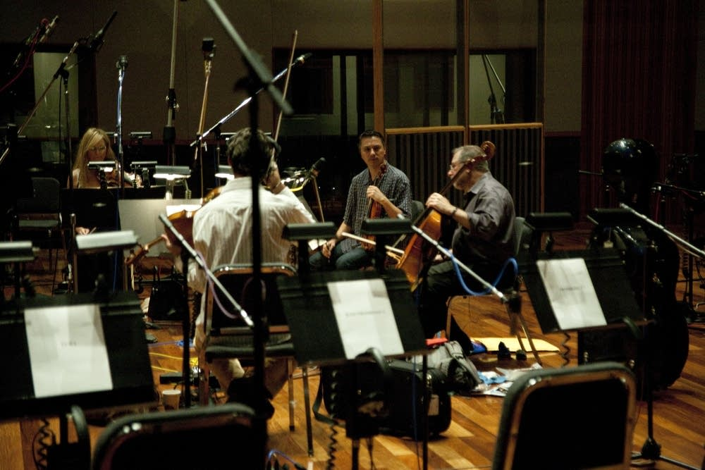 A Warrior's Odyssey recording session