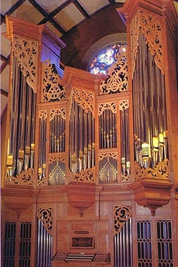 1987 Rosales organ at Trinity Episcopal Cathedral, Portland, Oregon