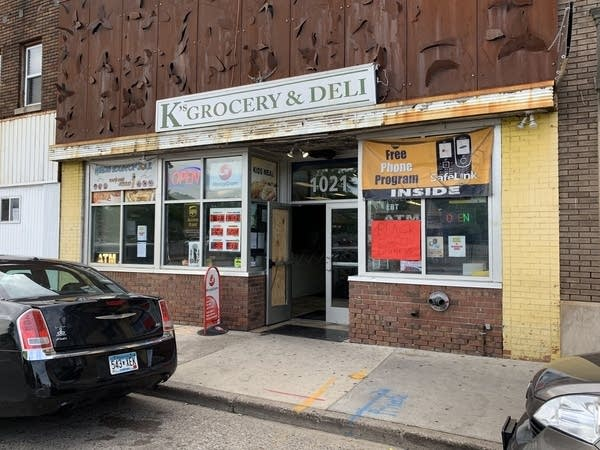 K's Grocery & Deli at 1021 West Broadway Avenue in north Minneapolis.