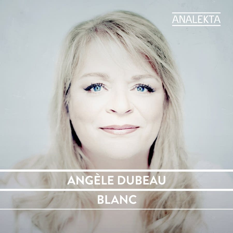 angele dubeau blanc album cover