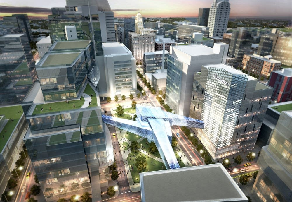 Rochester expansion plan is a vision for urban and walkable