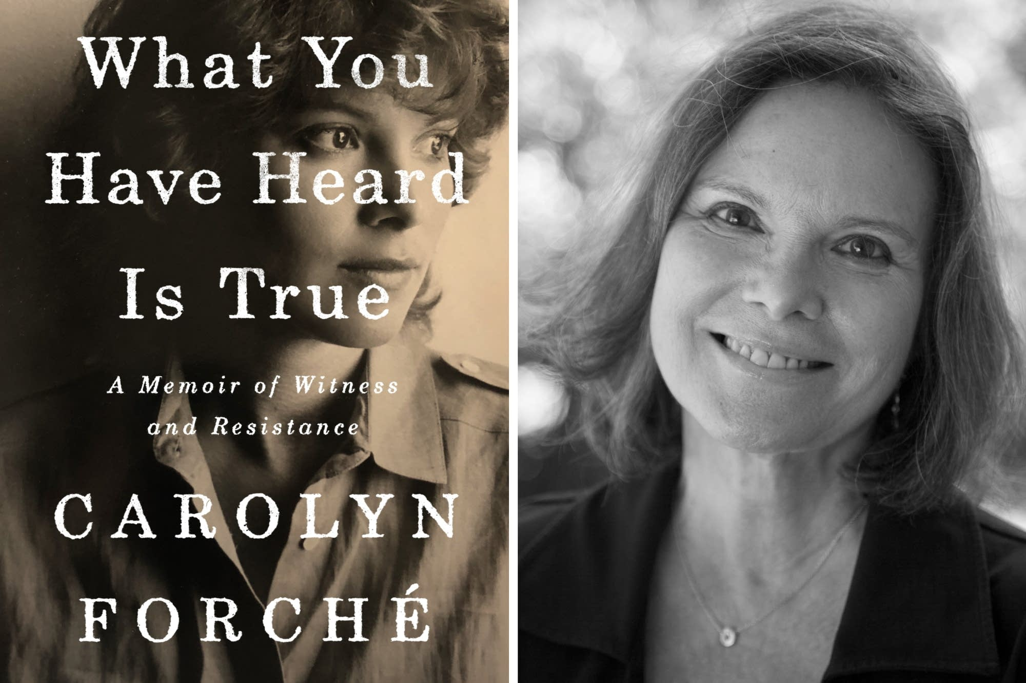Carolyn Forché author of 'What You Have Heard Is True'