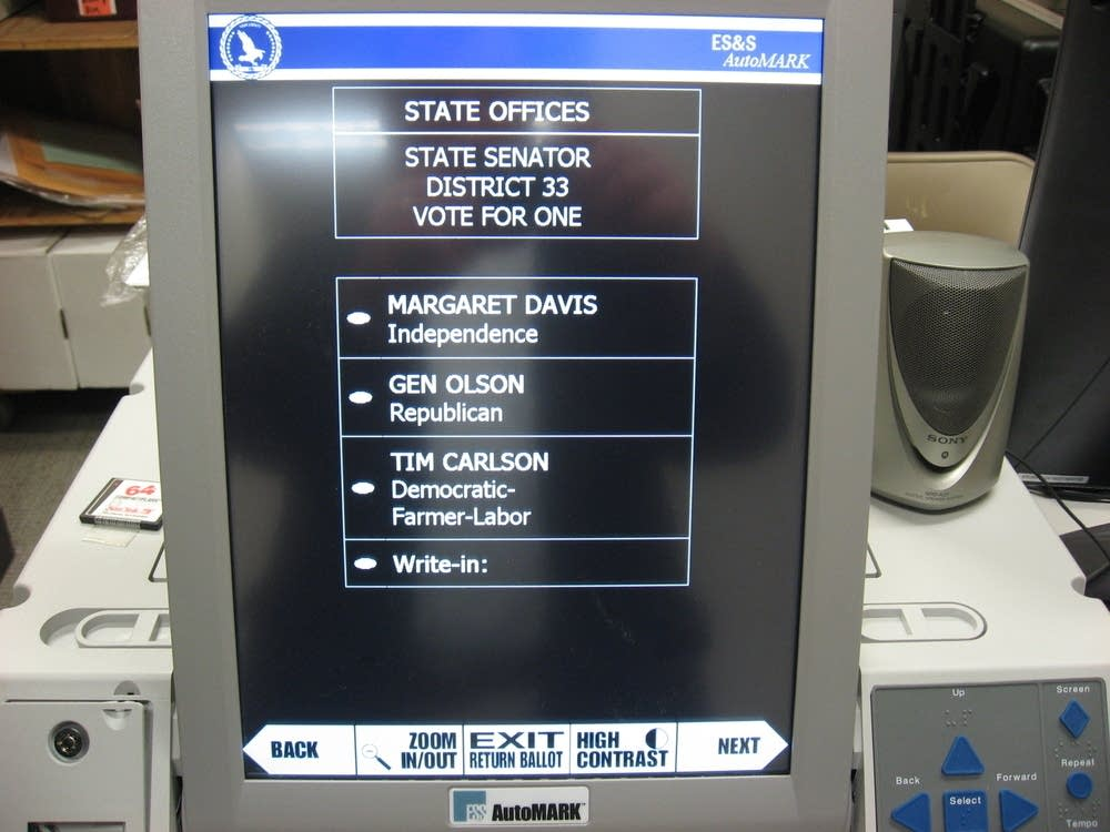 The Automark voting machine