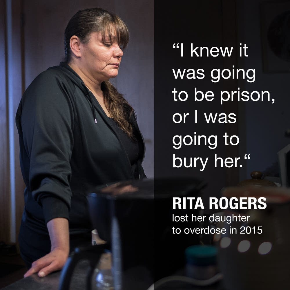 Rita Rogers lost her daughter, Tiffany, to opioid overdose.