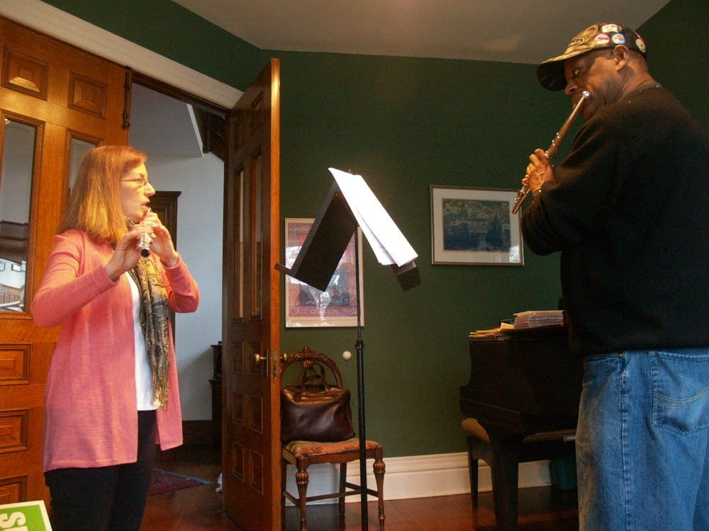 Teaching flute