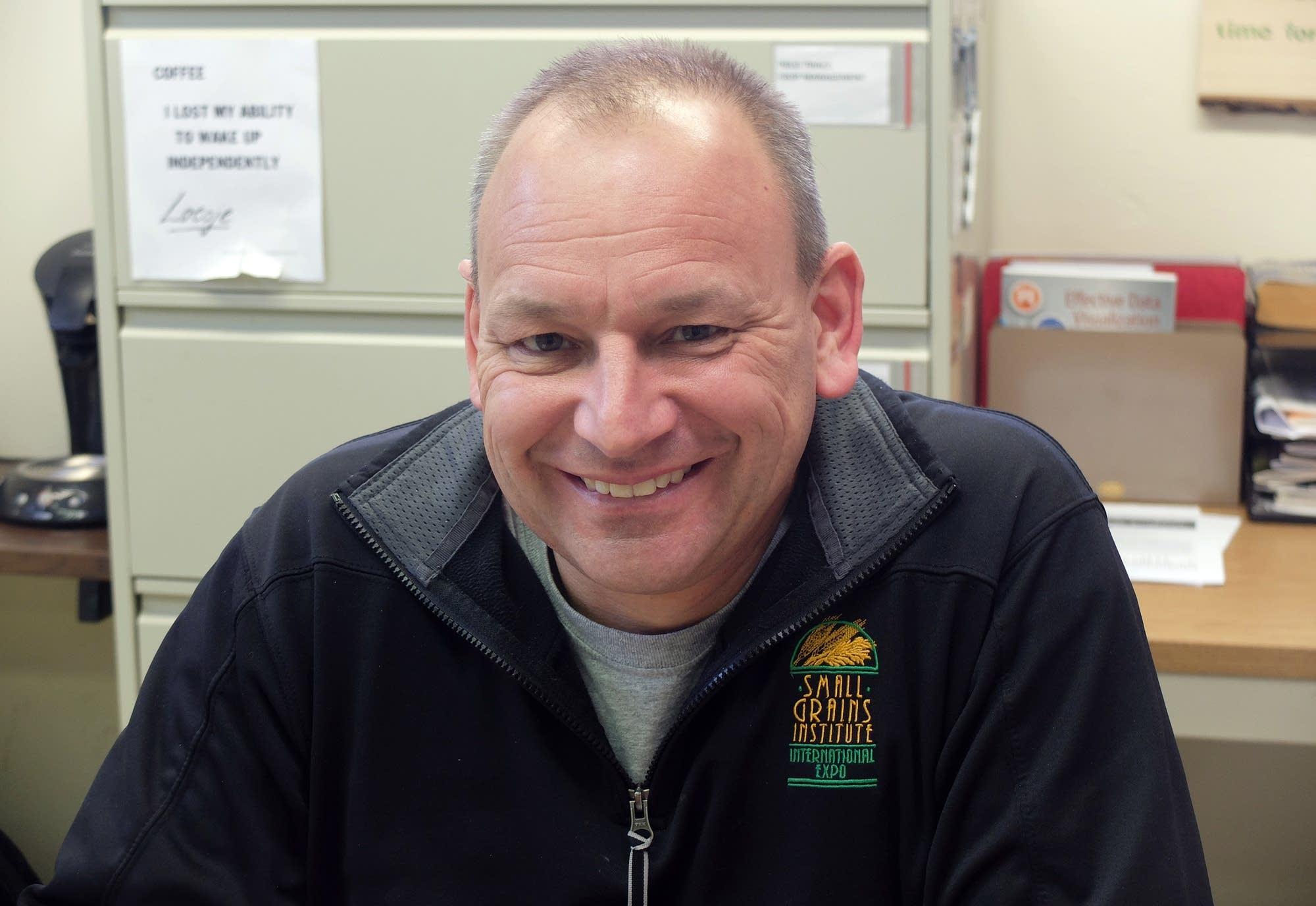 University of Minnesota-Crookston agronomist Jochum Wiersma