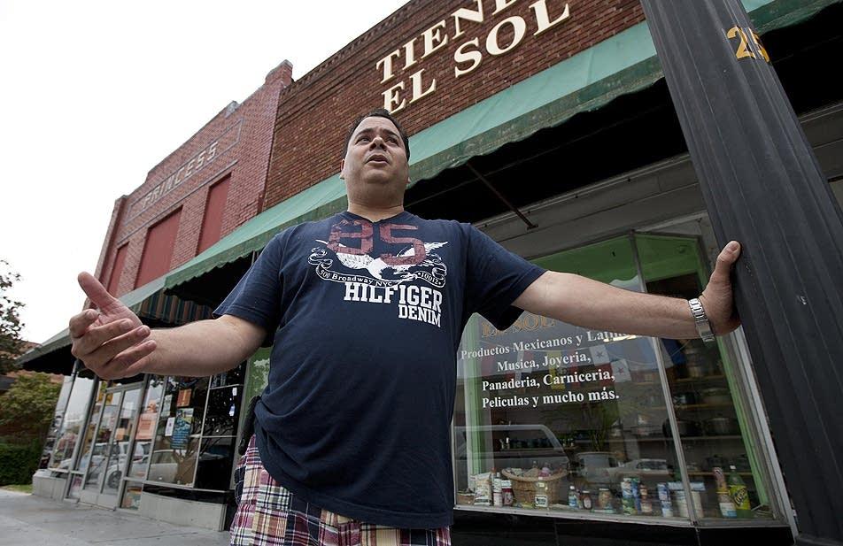 Store owner Jose Contreras