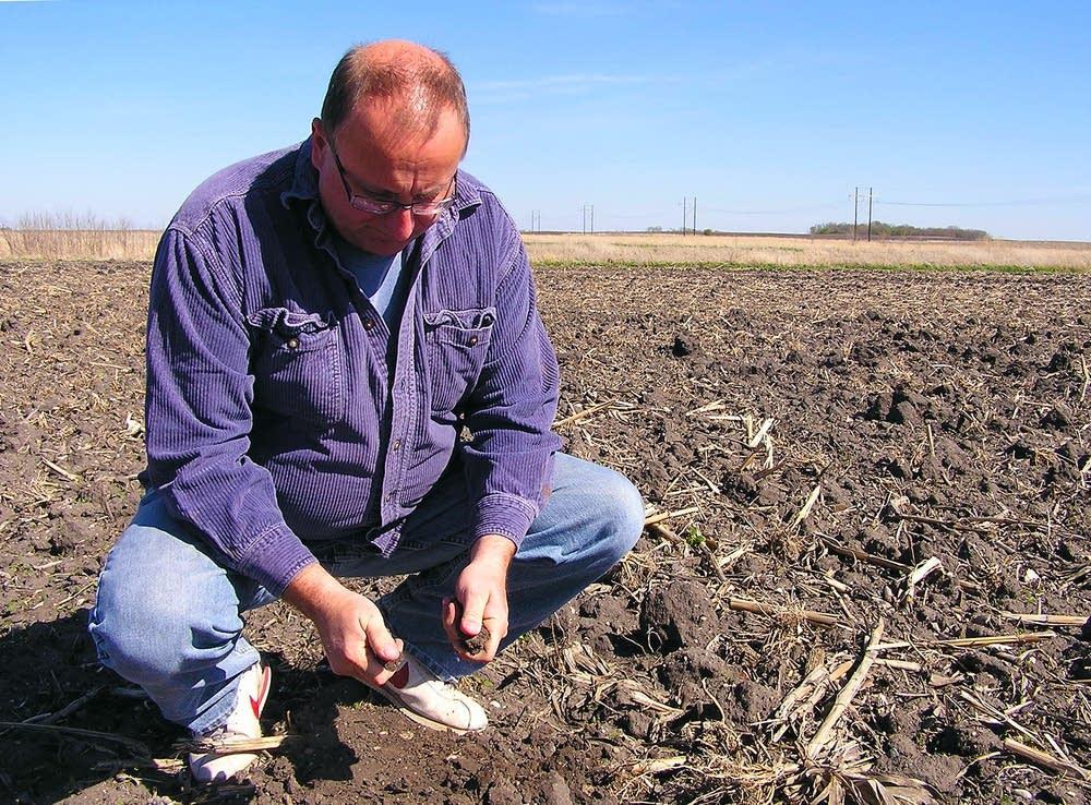 Testing the soil