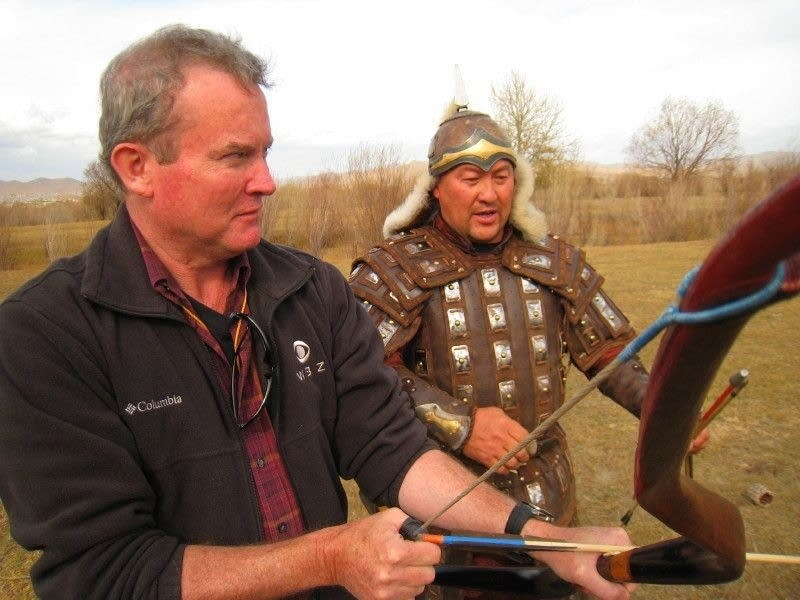 David Rodrick in Mongolia