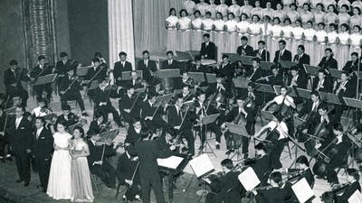 43ba77 20160829 chinese orchestra performing beethoven in 1959