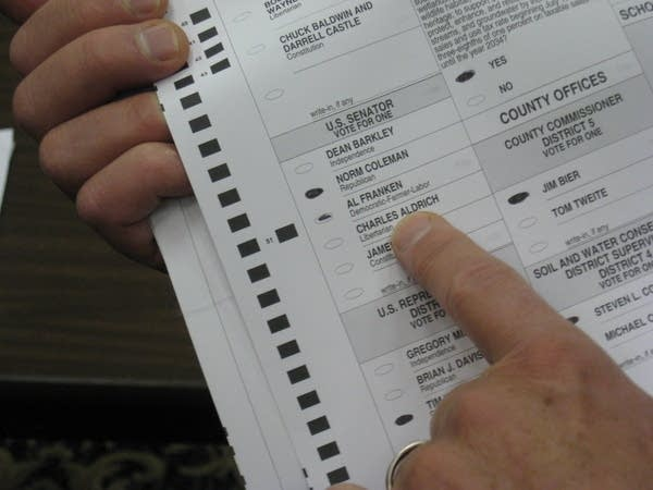 A ballot in Rochester challenged by both campaigns