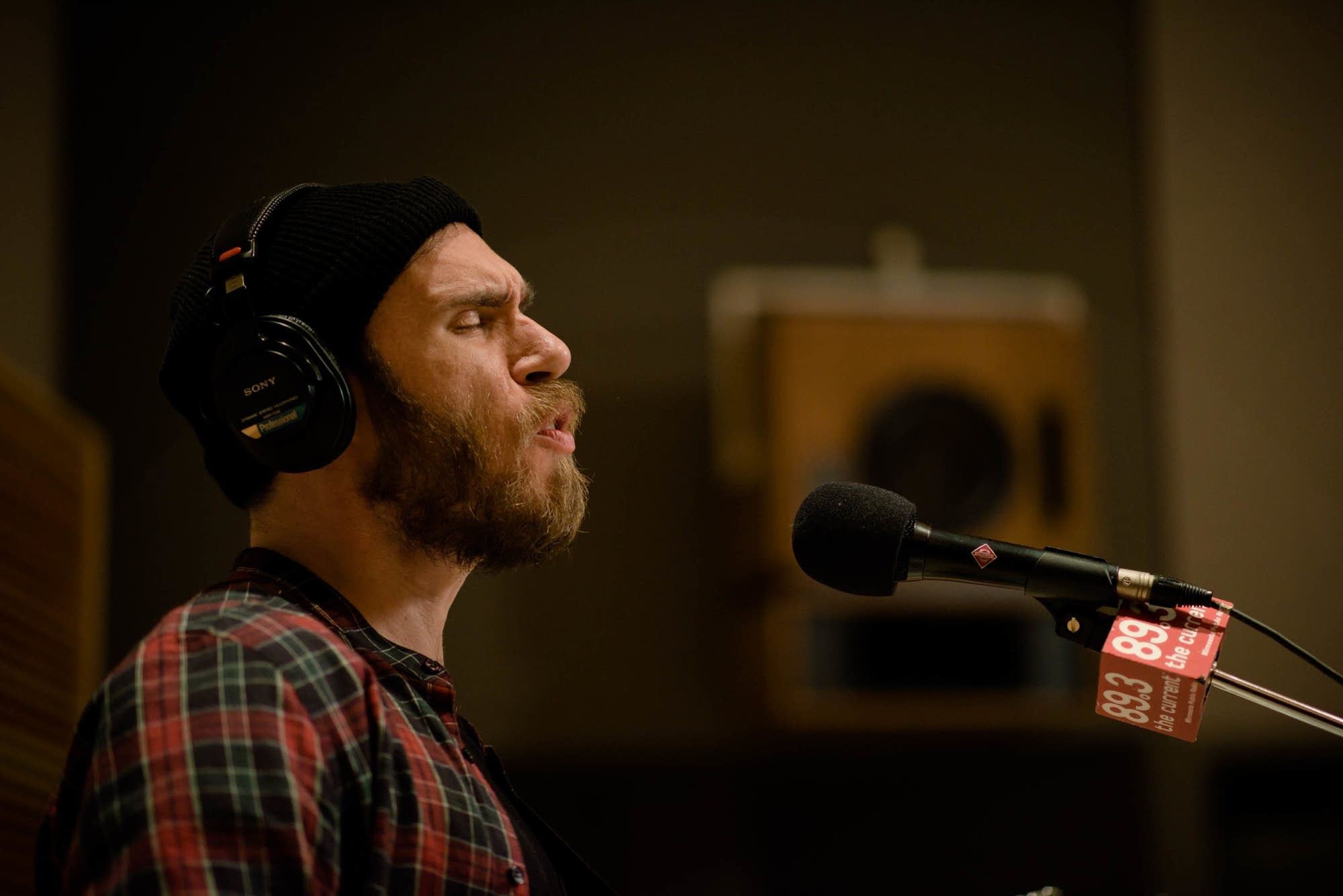 James Vincent McMorrow in studio