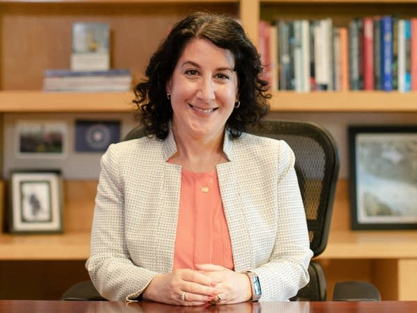 Macalester College President Suzanne Rivera.