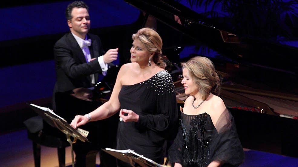 Renee Fleming (right) and Susan Graham