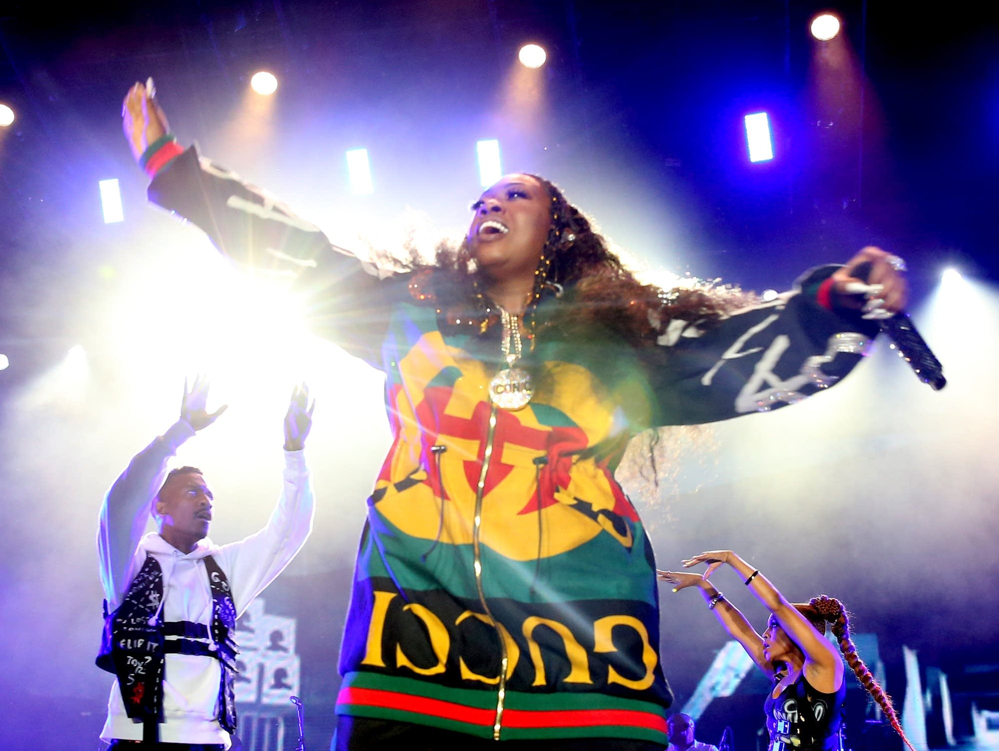 Missy Elliott performs in New Orleans in 2018.