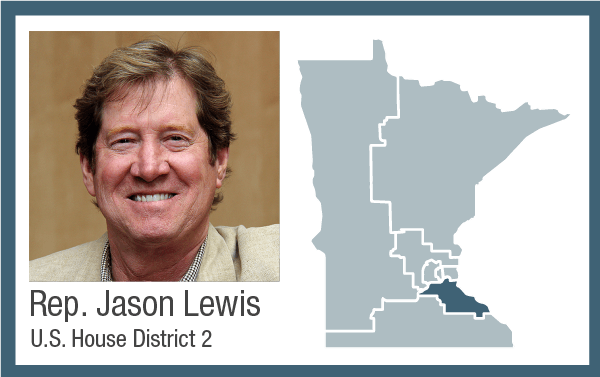 Rep. Jason Lewis, U.S. House District 2