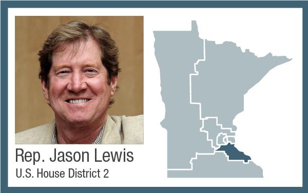 Rep. Jason Lewis, U.S. House District 2