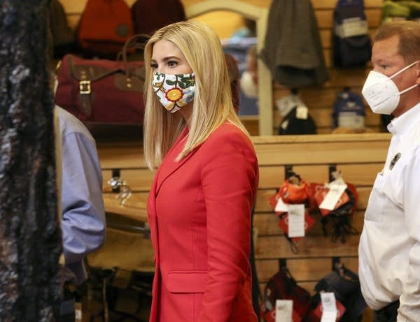 Presidential adviser Ivanka Trump takes a tour of Duluth Pack