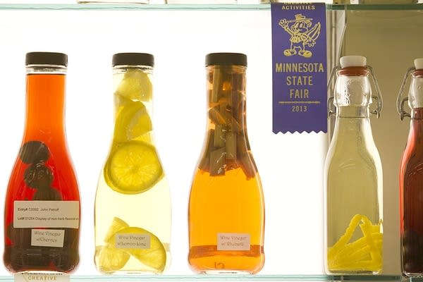 Entries in wine vinegar competition.