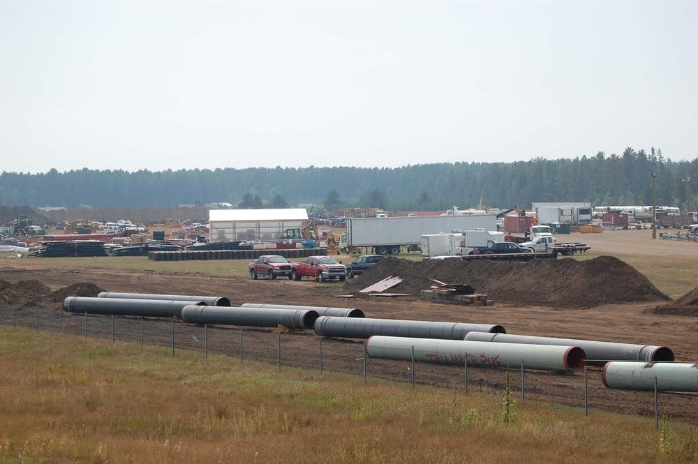 Alberta Clipper oil pipeline