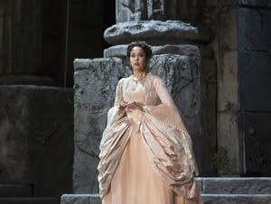 Nadine Sierra as Ilia in Mozart's 'Idomeneo.'