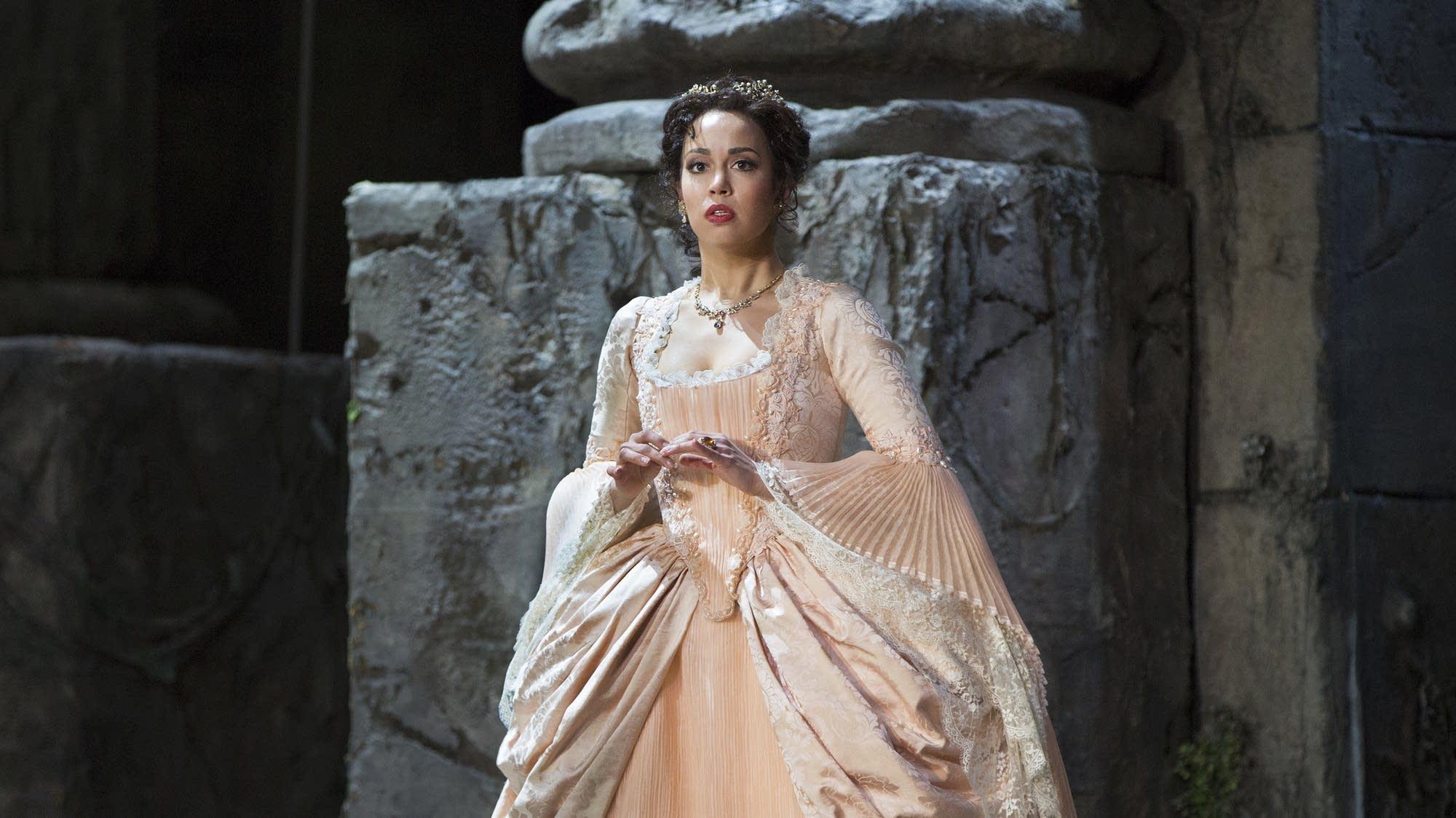 Nadine Sierra as Ilia in Mozart's 'Idomeneo.'