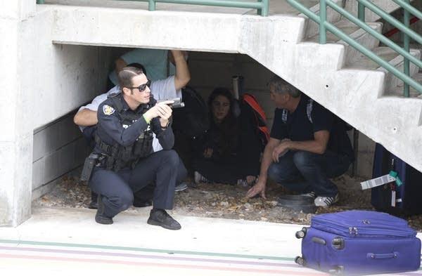 APTOPIX Airport Shooting Florida