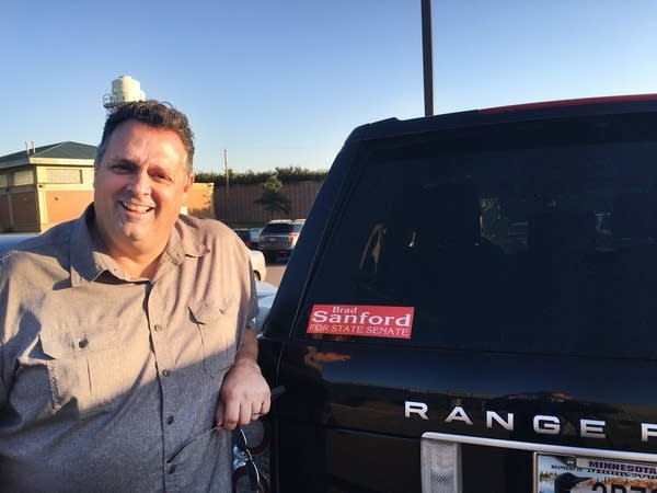 Minnesota Senate candidate Brad Sanford