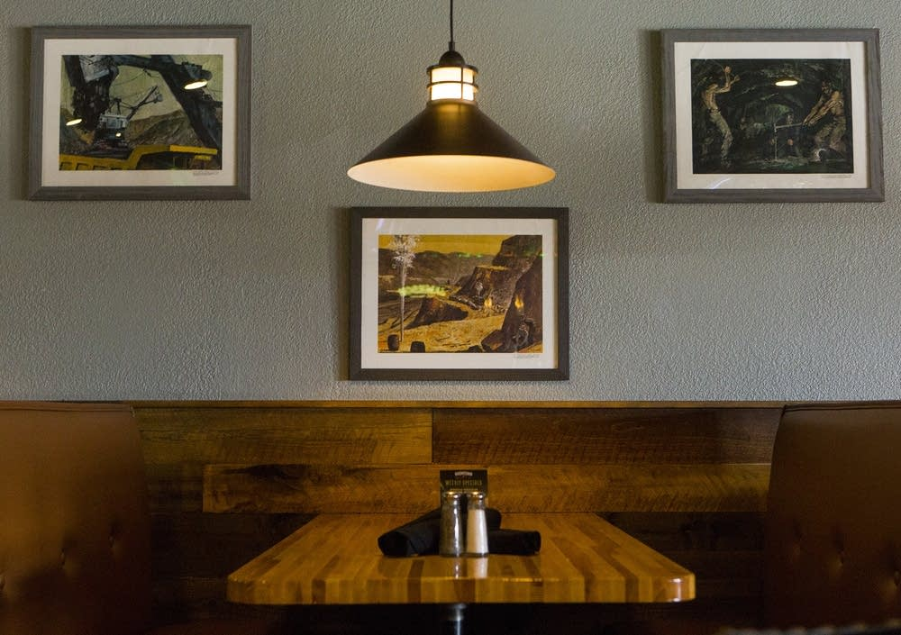 The BoomTown Woodfire Restaurant in Eveleth
