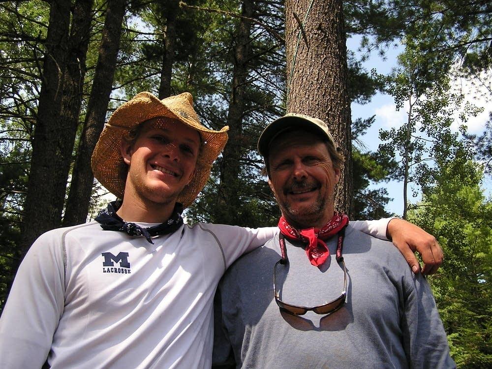 Matthew and Jeff Huspeni