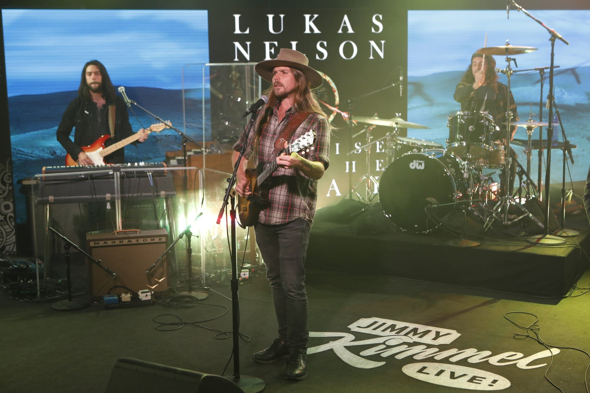 Lukas Nelson and the Promise of The Real on 'Jimmy Kimmel Live'
