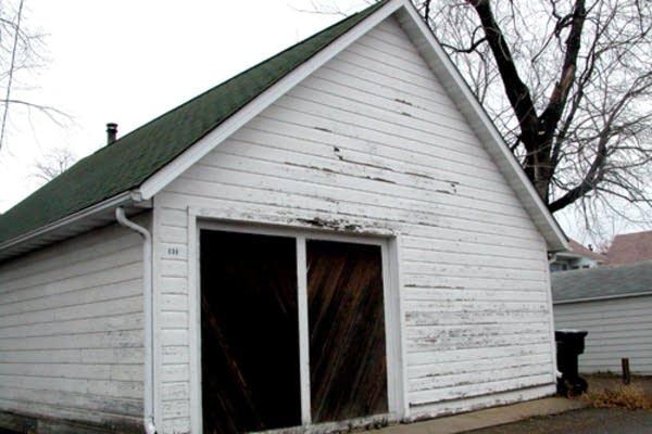 Steve Hamel's garage