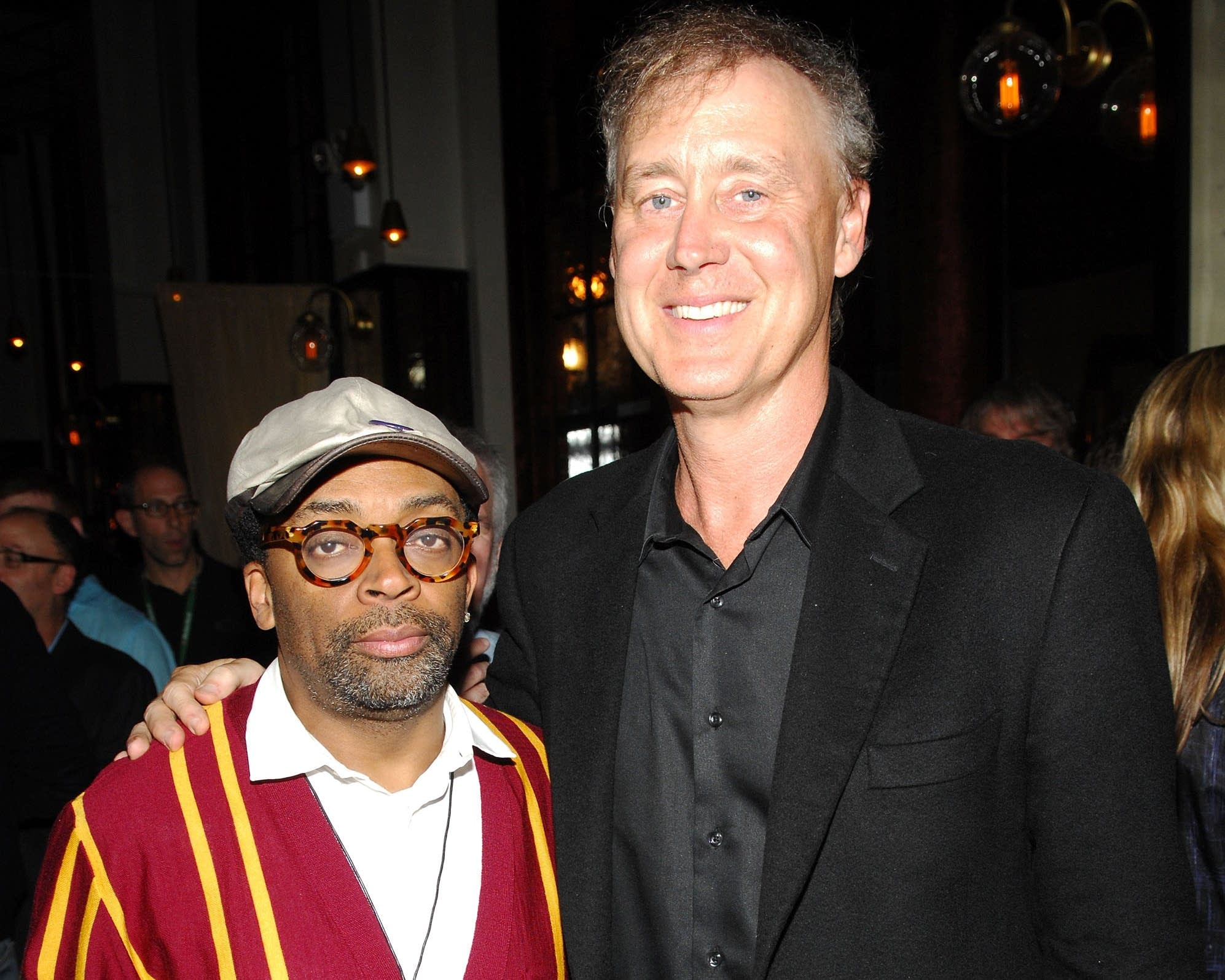 Spike Lee and Bruce Hornsby in 2009