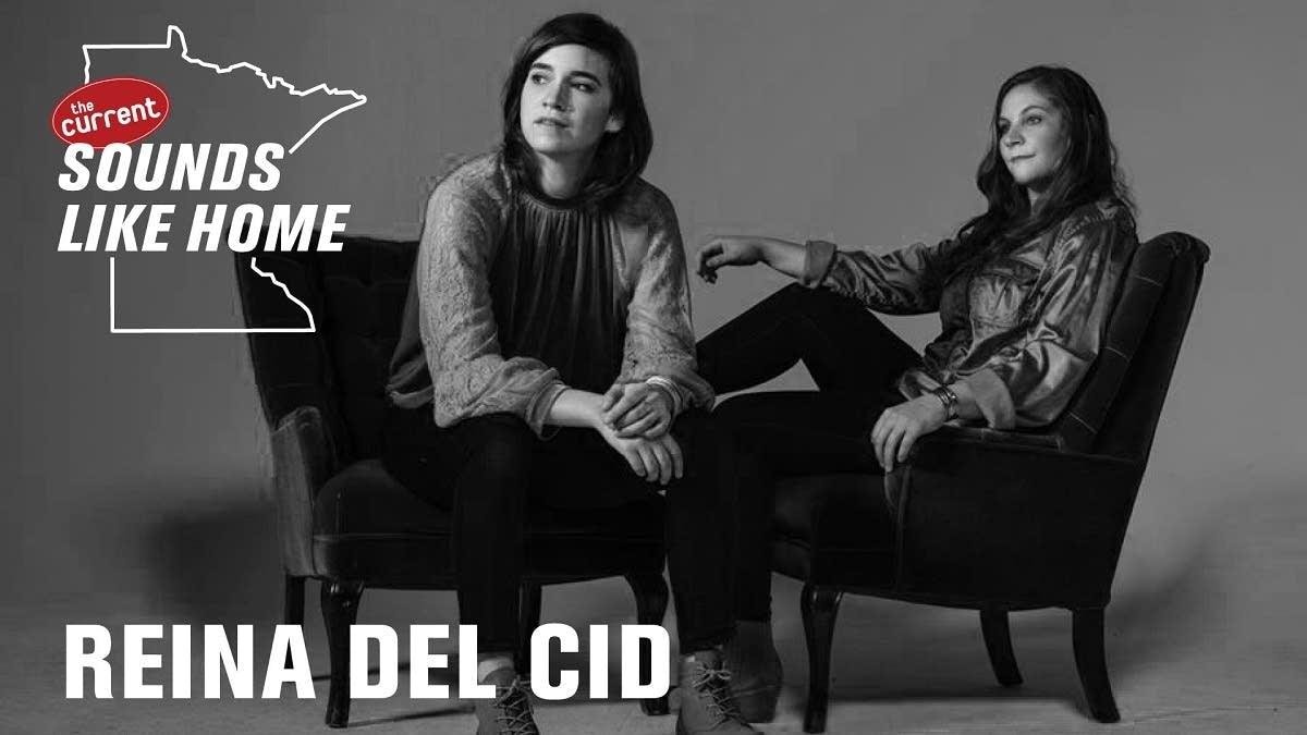 Digital flyer for Reina Del Cid's Sounds Like Home performance.