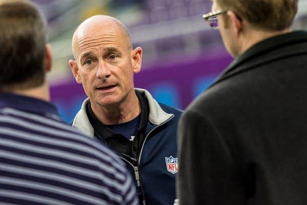 NFL Field Director Ed Mangan