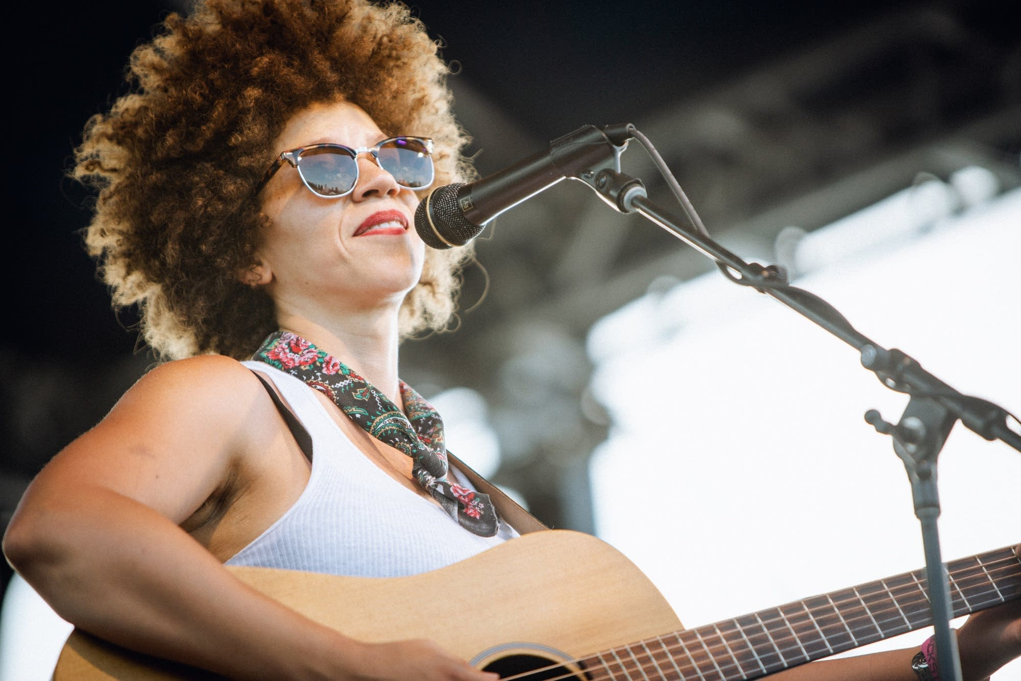 Chastity Brown at Rock the Garden 2018.