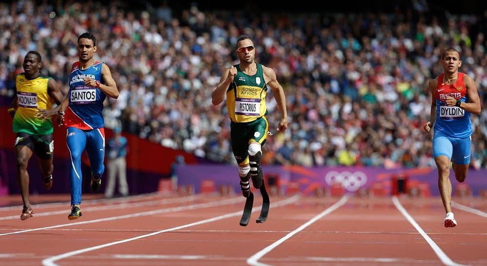 Men's 400-meter heat