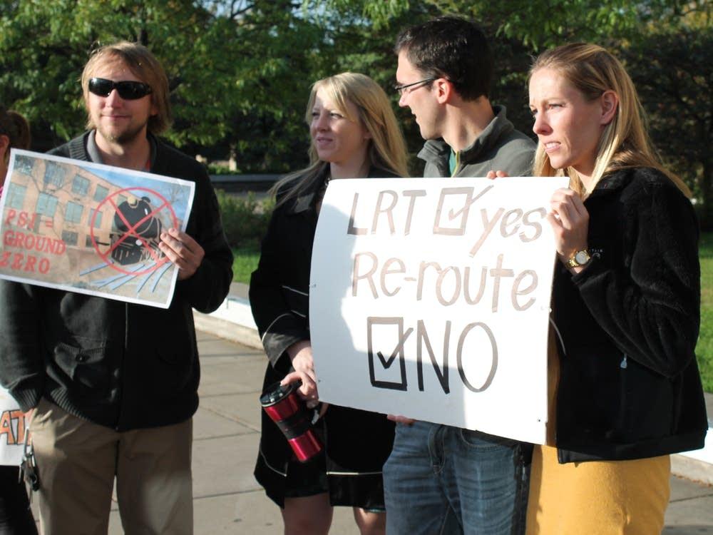 Ground Zero protesters