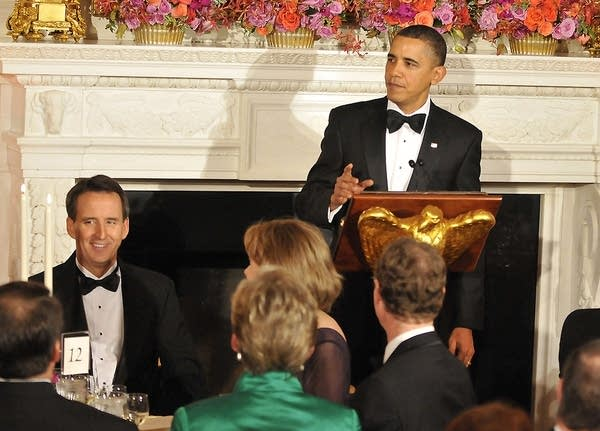 Tim Pawlenty at the White House
