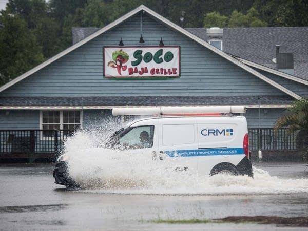 Hurricane Dorian blows just off North Carolina   MPR News