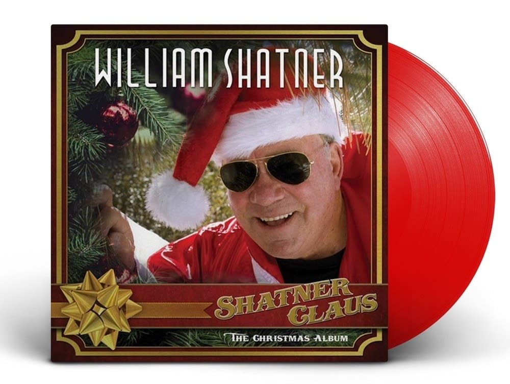 William Shatner's album 'Shatner Claus.'