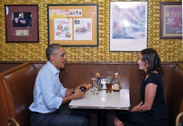 Obama and Rebekah Erler