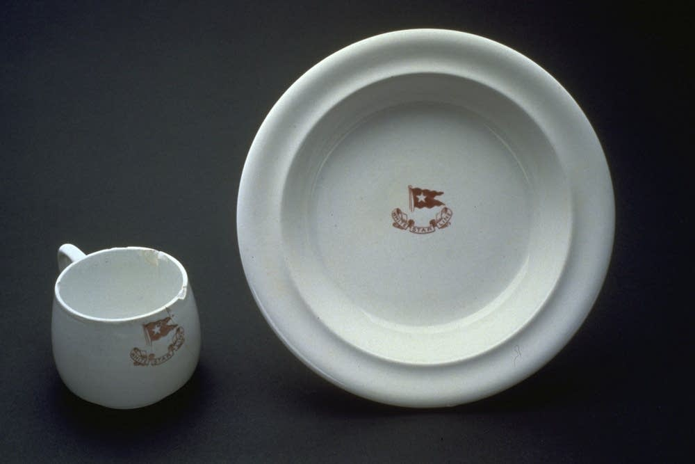 Dishes from the Titanic
