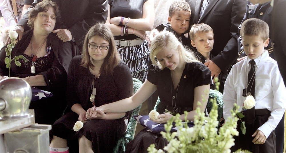 Dickhut's family mourns