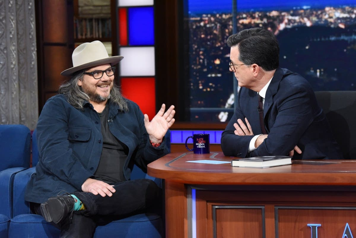 Jeff Tweedy on 'The Late Show with Stephen Colbert'