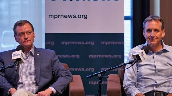 Jeff Johnson and Tim Pawlenty on Politics Friday.