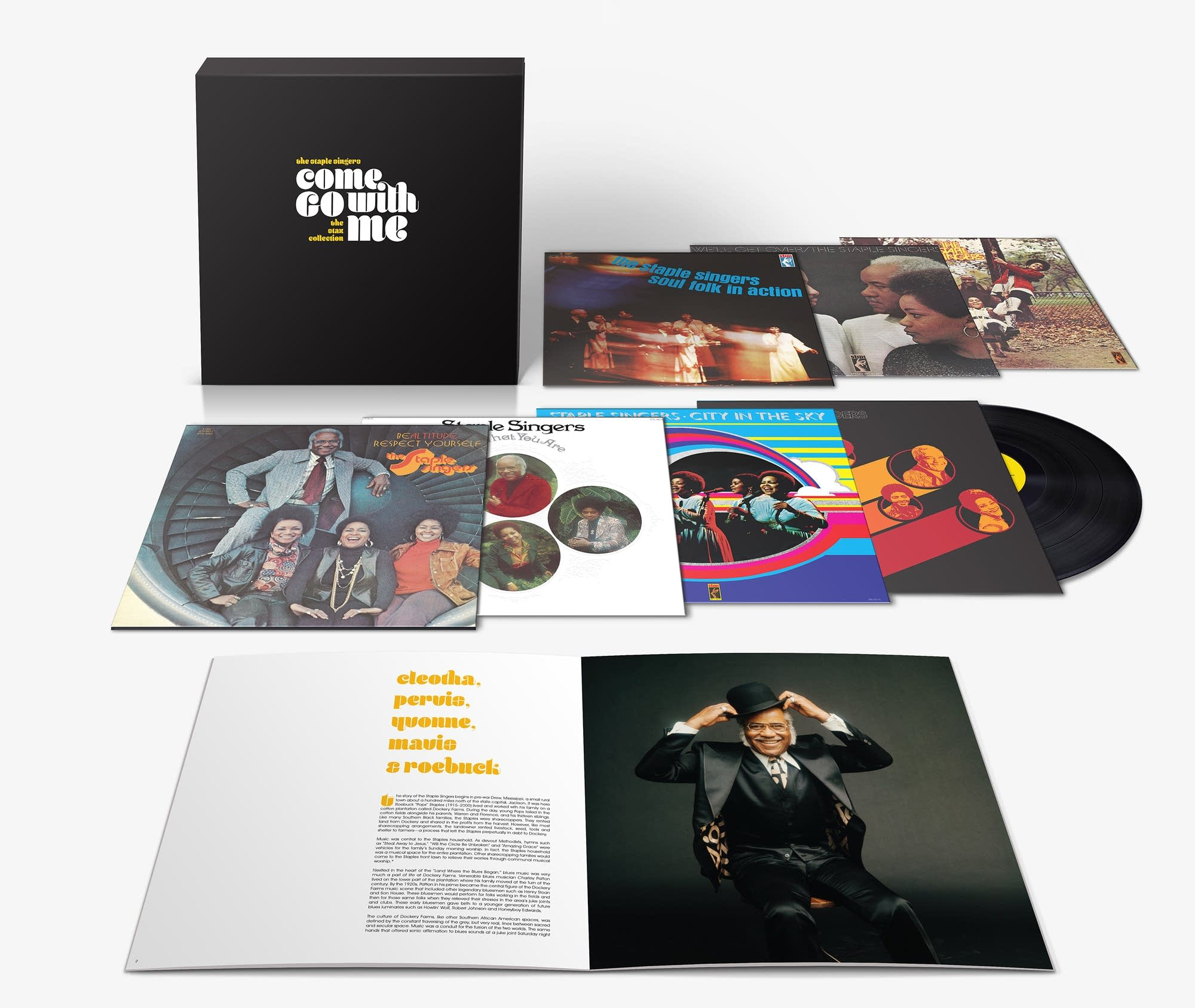 The Staple Singers, 'Come Go With Me: The Stax Collection'