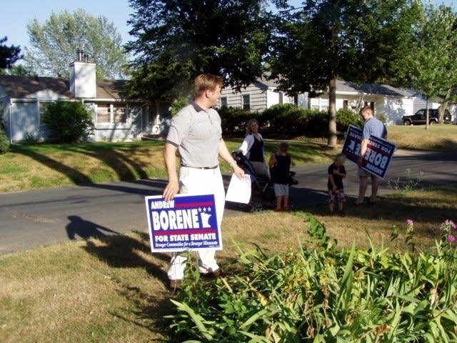 DFL Senate candidate Andrew Borene