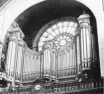 1898 Cavaillé-coll Organ at the Church of Saint Augustin in Paris, France